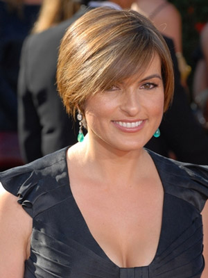 Mariska Hargitay, short hair
