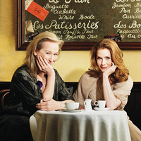 Meryl Streep and Amy Adams smiling