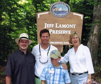 Jeff Lamont's family and friends