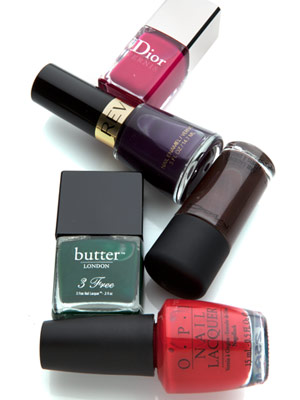 nail polishes