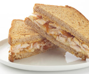 Apricot Brie Chicken Sandwich