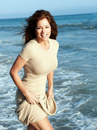 Valerie Bertinelli in waves