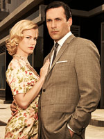 Mad Men's Betty and Don Draper