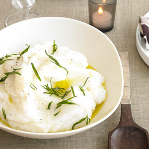 Mashed Potatoes With Rosemary Oil