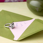 Ring and letter