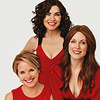 Julianna Margulies, Julianne Moore, Katie Couric
