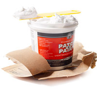 Putty Knife,  Spackling, Compound,  Drywall sandpaper