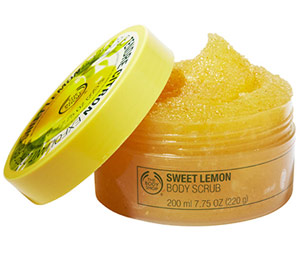 Sweet Lemon Body Scrub