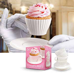 Tea Cupcake Holders