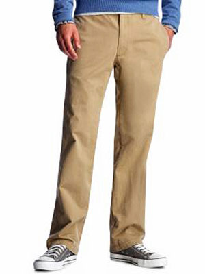 High School Boy's Khakis