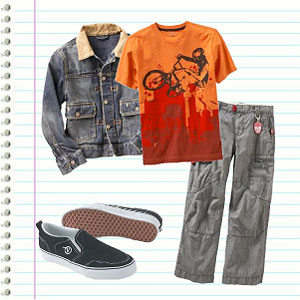 Middle School Boy's Outfit