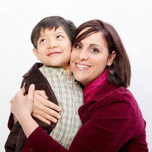 Rose Astorina and her son