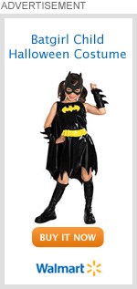 Batgirl Child Halloween Costume