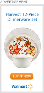 Harvest 12-Piece Dinnerware set