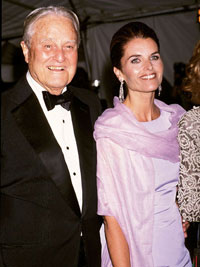 Maria and Sargent Shriver in 2001