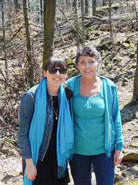 Amanda Wolfe and mother