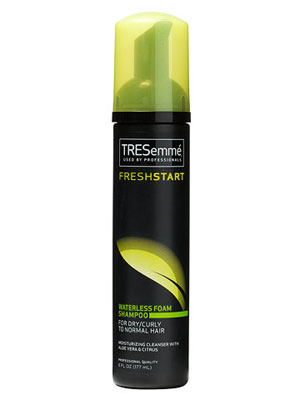 Tresemme Fresh Start Waterless Foam Shampoo