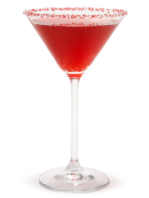 Holiday Pom Cocktail