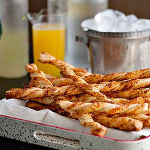 Spicy Pecan and Parmesan Cheese Straws
