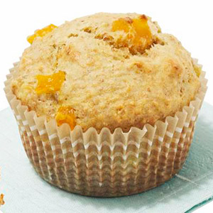 Low-Fat Apricot Banana Muffins