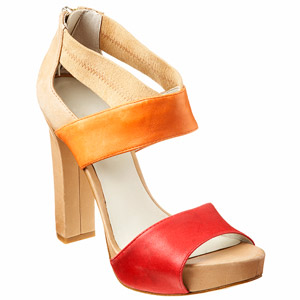 The Color Block Sandal