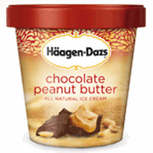 H�agen Dazs Chocolate Peanut Butter