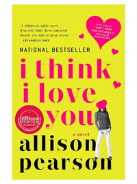 I Think I Love You Stickered Cover