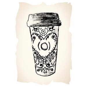 Cup illustration