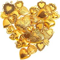 Lockets in a Heart Shape