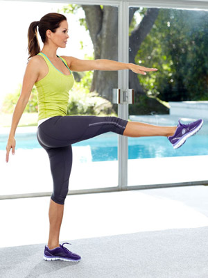 Rear Lunge to Kick: Step 2