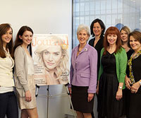LHJ Editors with Kathleen Sebelius