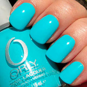 Turquoise Nail Polish
