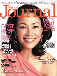 Ladies' Home Journal August 2012 Cover
