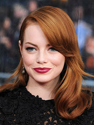 Emma Stone long hairstyle