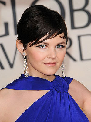 Ginnifer Goodwin short pixie cut hairstyle