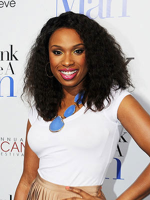 Jennifer Hudson medium hairstyle