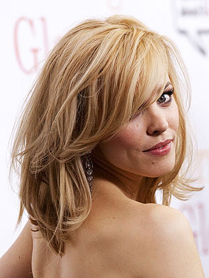 Rachel McAdams medium hairstyle