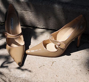Polished Pumps