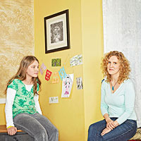 Naomi Shulman and daughter