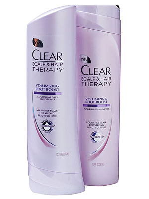 Clear Scalp & Hair Therapy Volumizing Shampoo and Conditioner