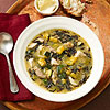 Rustic Turkey soup