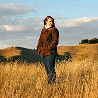 Jenna Gabert, woman in field