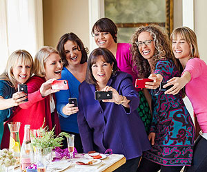 Ina Garten and bloggers