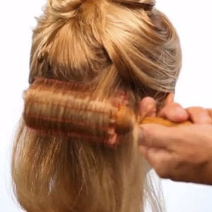 Blowout Hairstyle Step 2
