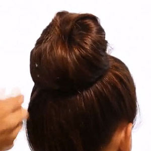 Sock Bun Step 5