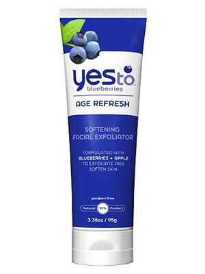 Yes To Blueberries Softening Facial Exfoliator