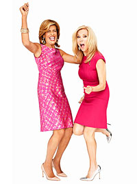 Hoda and Kathie Lee laughing