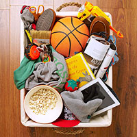 Items in basket