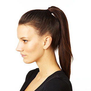 Braided top knot step 2