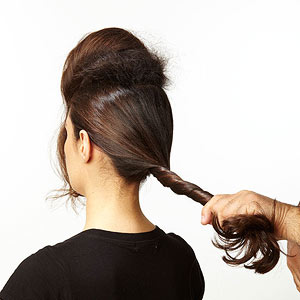 French twist step 5
